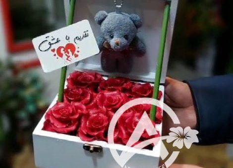 جعبه گل مصنوعی
