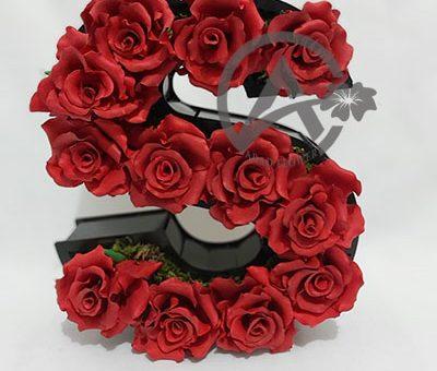 گل رز مصنوعی قرمز