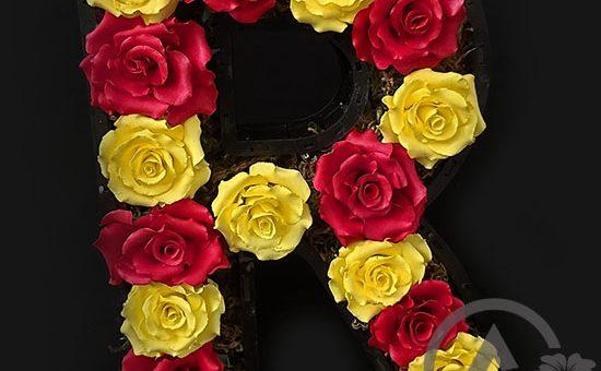 باکس گل رز r