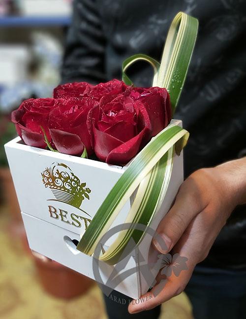 جعبه گل کشودار