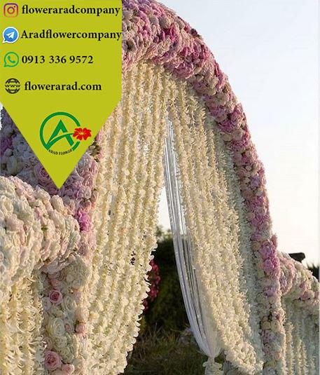 گل آویز ریسه ای مصنوعی